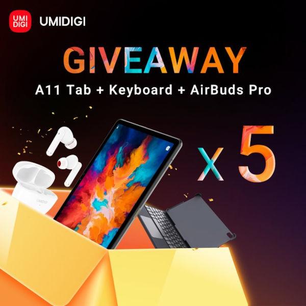 Umidigi A11 Tab give aways