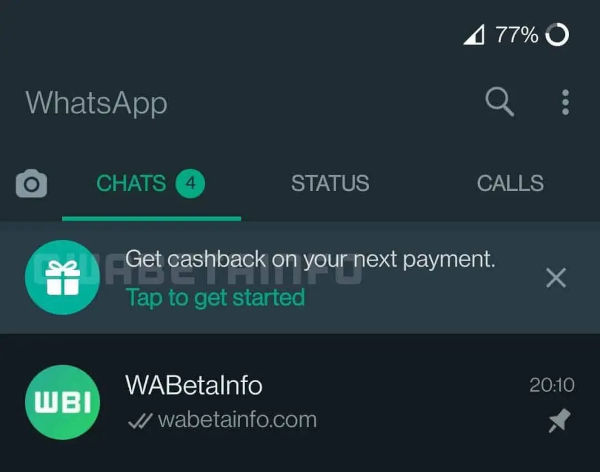 WhatsApp Is Offering Cashback To Convince Users To Use Its Payment System
