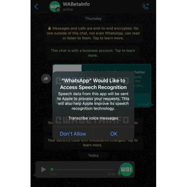 WhatsApp to teach users how to convert voice messages to text 1