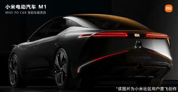 XIAOMI ELECTRIC CAR M1 RENDERS 3