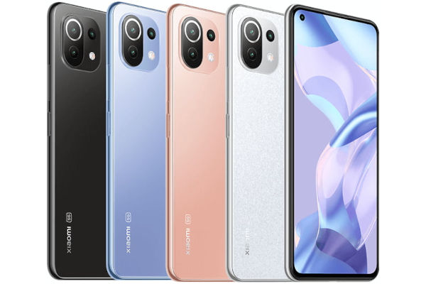Xiaomi 11 Lite 5G NE in colors