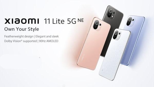 Xiaomi 11 Lite 5G NE launched
