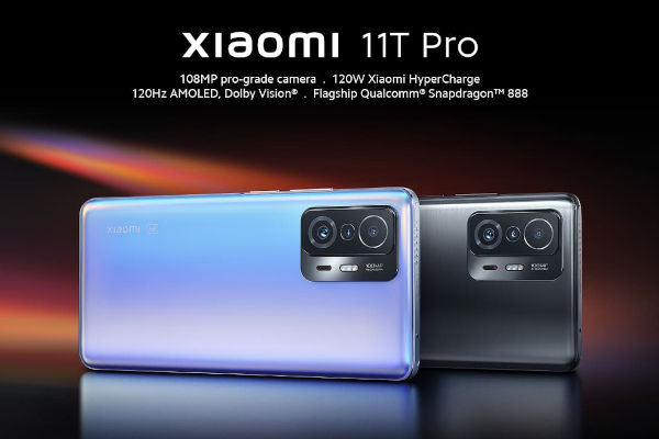 Xiaomi 11T Pro launched