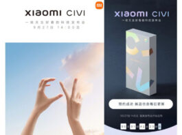 Xiaomi Civi smartphone series to be announced on September 27