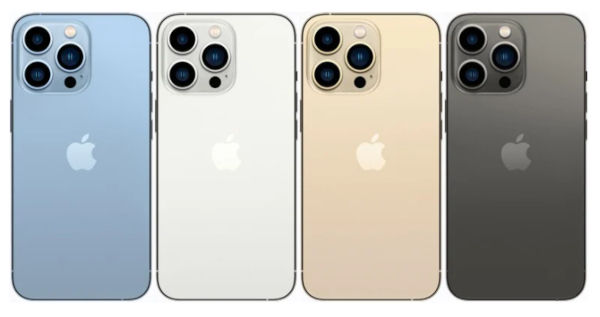 iPhone 13 Pro Max in colors 2