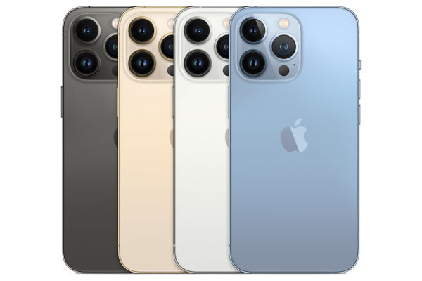 iPhone 13 Pro in colors