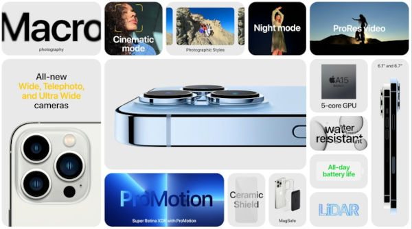 iPhone 13 Pro specs and features