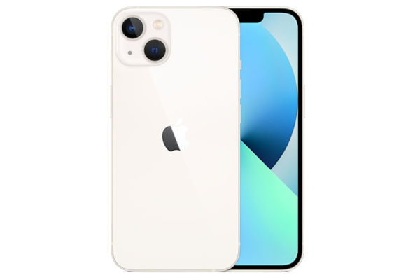 iPhone 13 in white