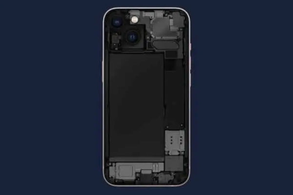 iPhone 13 Mini / 13 battery shape