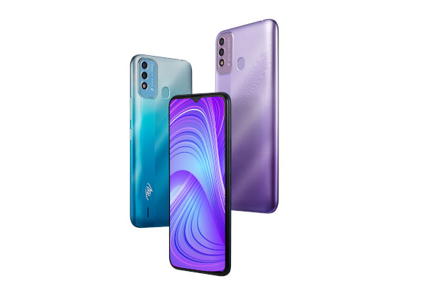 itel Vision 2s in colors