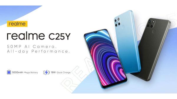 realme C25Y launched