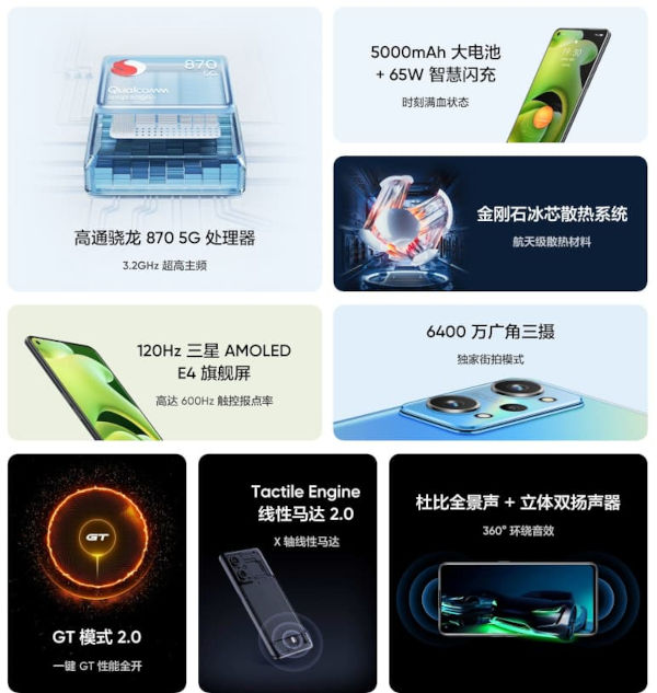 realme GT Neo2 features