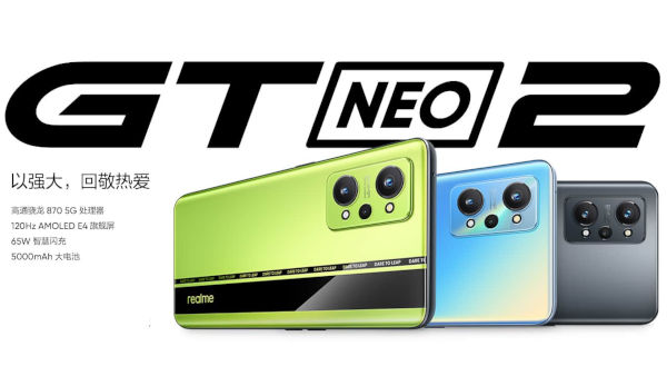 realme GT Neo2 launched
