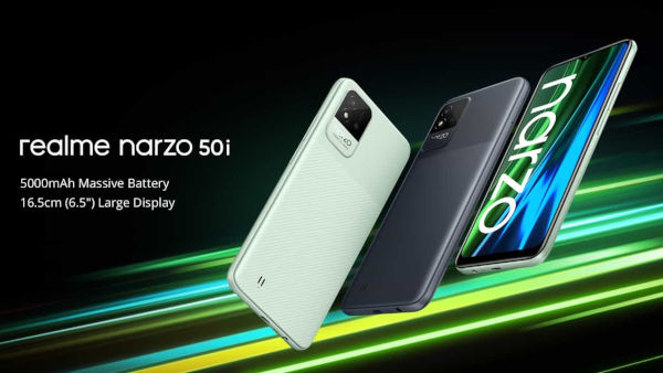 realme narzo 50i launched