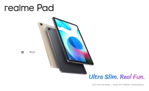 realme pad launched
