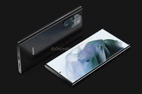 renders of Samsung Galaxy S22 Ultra leak with S Pen slot