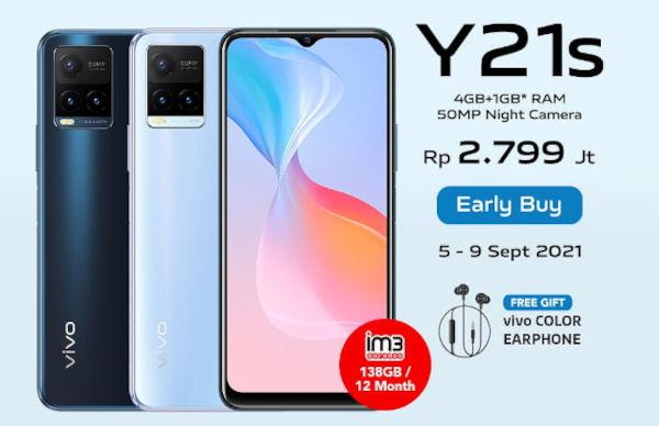 vivo Y21s price