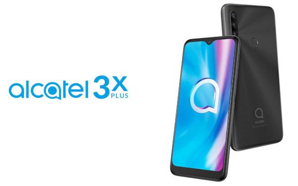Alcatel 3X Plus launched
