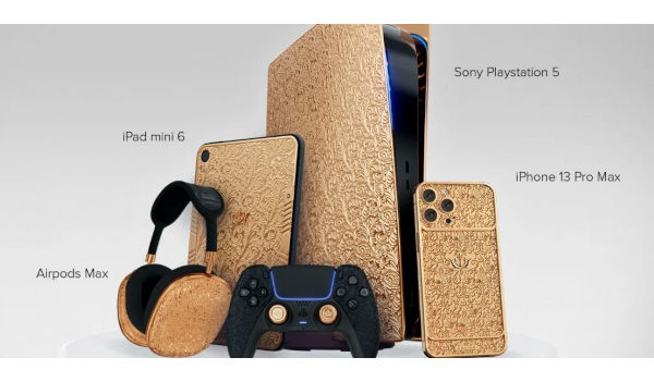 Caviar unveils Gold encased iPhone 13 Pro PS5 iPad mini and AirPods Max