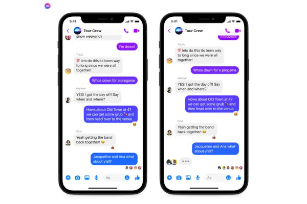 Cross App Group Chats in FB Messenger and Instagram DM