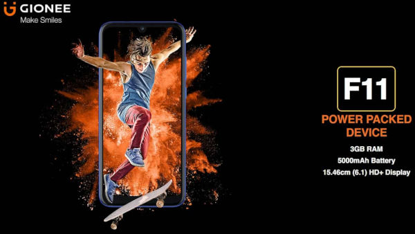Gionee F11 launched
