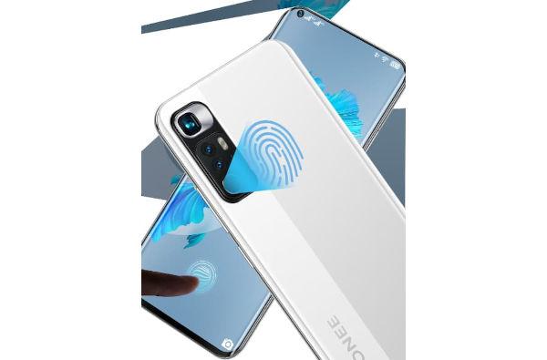 Gionee K10 fingerprint sensor