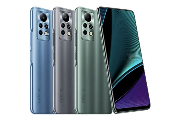 Infinix Note 11 Pro in colors
