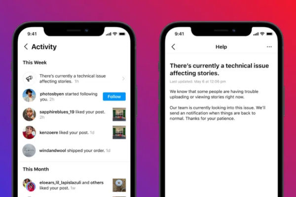 Instagram New Feature Will Notify You of Outages Within the App