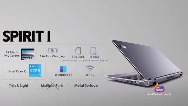Itel Spirit 1 Laptop launched 1