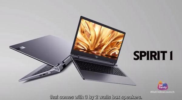 Itel Spirit 1 Laptop launched