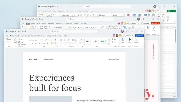 Microsoft Office 2021 design
