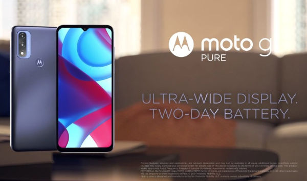 Moto G Pure launched