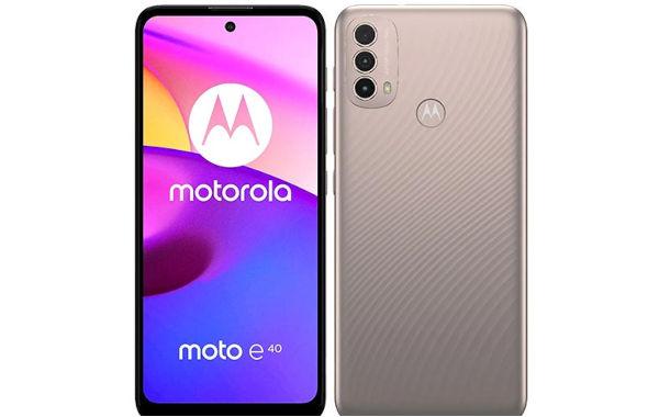 Motorola Moto E40 1