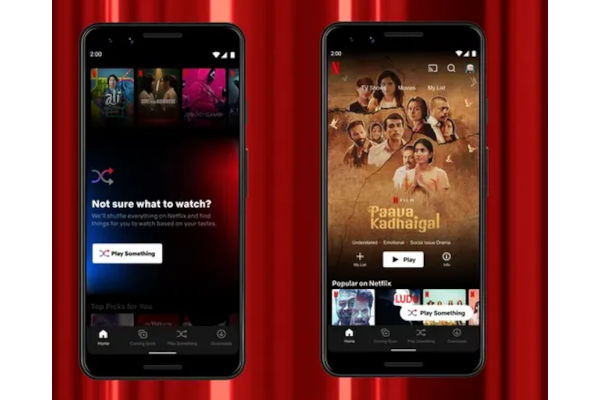 Netflix Launches Play Something on Android