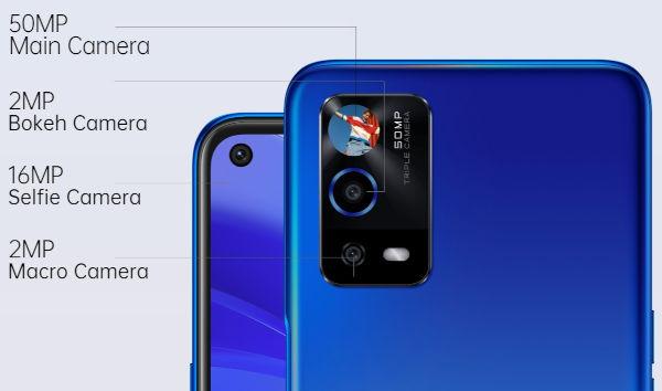 OPPO A55 4G cameras