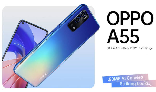 OPPO A55 4G launched