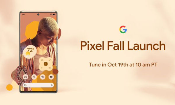 Pixel 6 series will be launched on October 19