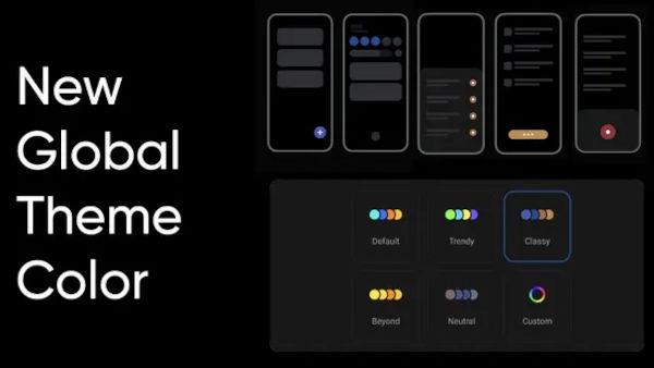 Realme UI 3 Global Theme Colors