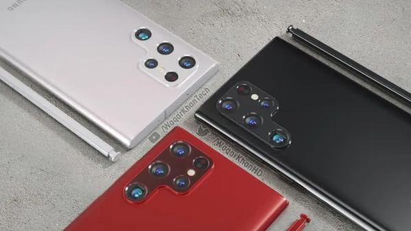 Samsung Galaxy S22 ultra renders 1