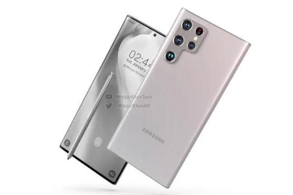 Samsung Galaxy S22 ultra renders 6