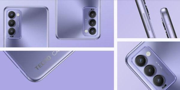 TECNO CAMON 18 design