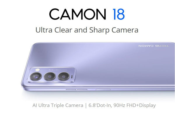 TECNO CAMON 18 launched