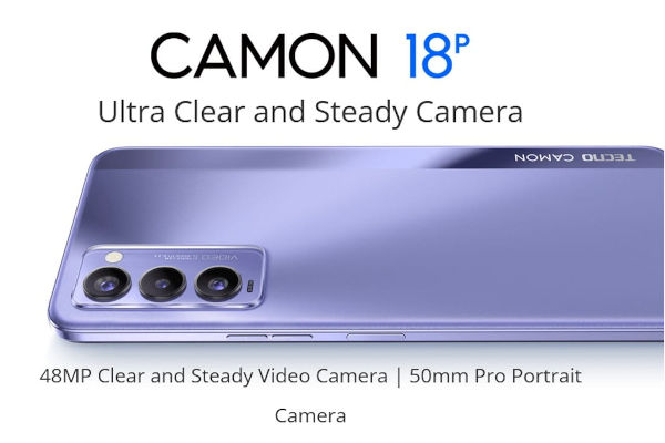 TECNO CAMON 18P launched