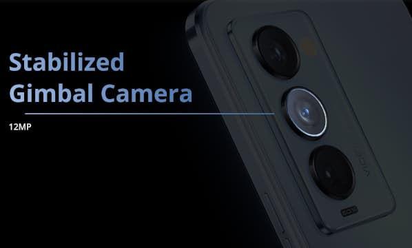 Tecno Camon 18 Premier gimbal stabilized 12 megapixel camera