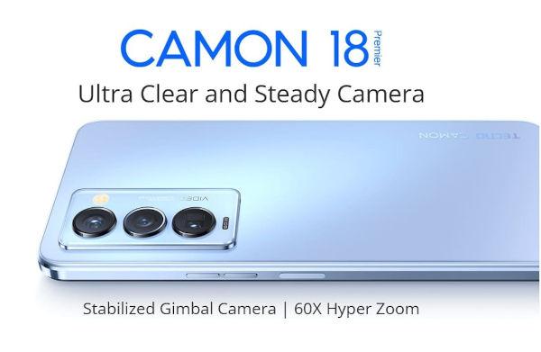 Tecno Camon 18 Premier launched