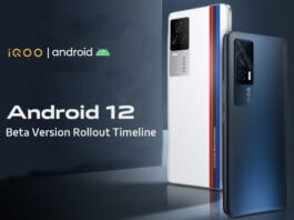 iQOO shares Its Android 12 Beta roll out timeline for its smartphones