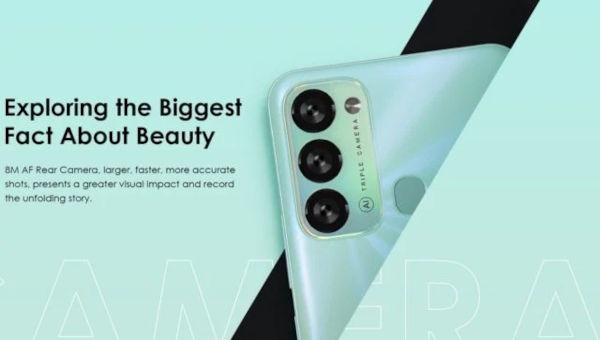 itel S17 cameras