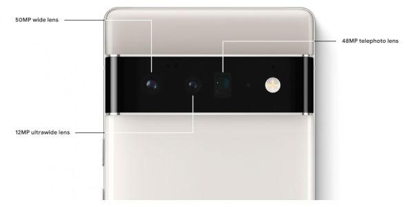 leaked image of pixel 6 image