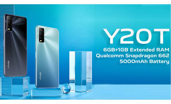 vivo Y20T launched